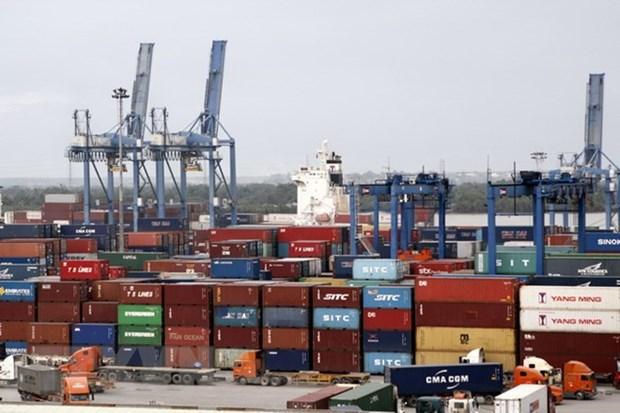 Registran fuerte aumento del trafico de mercancias por puertos de Vietnam hinh anh 1