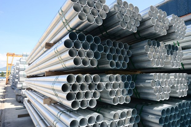 Exportacion de tubo de acero de Hoa Phat crece 11,5 por ciento hinh anh 1