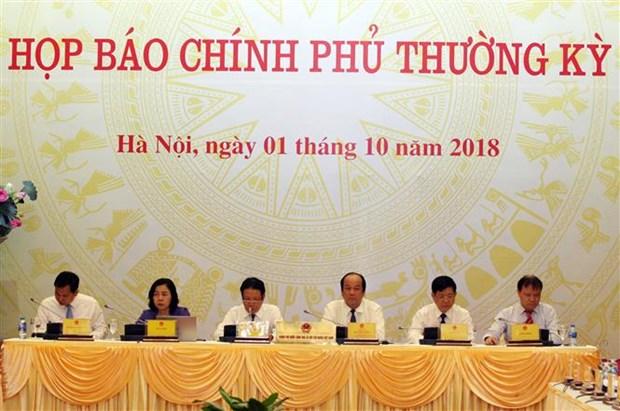 Miembros del gobierno vietnamita aclaran asuntos de gran interes publico hinh anh 1