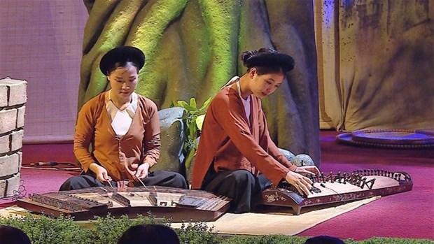 Espectaculo artistico muestra el espiritu del campo vietnamita hinh anh 1