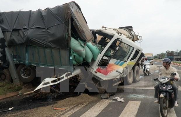 Mas de seis mil decesos por accidentes de transito en Vietnam en nueve meses hinh anh 1