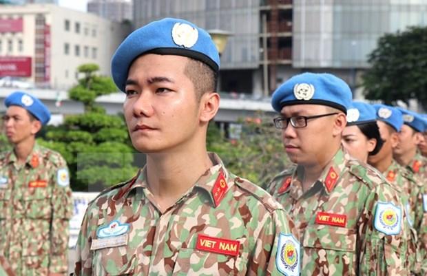 Incorporacion de Vietnam a mision de paz: tarea de alto valor de asistencia humanitaria hinh anh 1