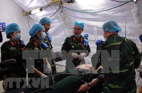 Vietnam envia hoy su primer hospital de campana a misiones de paz en Sudan del Sur hinh anh 1