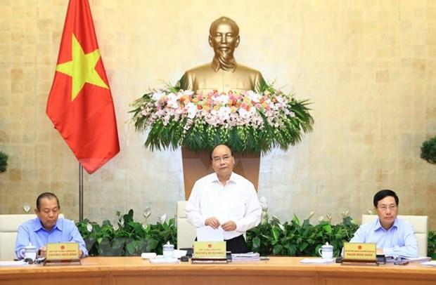 Gobierno de Vietnam decidido a sobrecumplir objetivo de crecimiento economico anual hinh anh 1