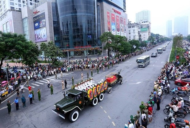Comunidad internacional manifiesta solidaridad con Vietnam por el fallecimiento de presidente Tran Dai Quang hinh anh 1