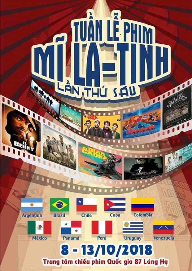 Sexto ciclo de cine latinoamericano: diez peliculas para todos los gustos en Vietnam hinh anh 1