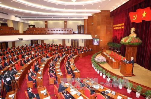 Inicia octavo pleno del Partido Comunista de Vietnam hinh anh 1