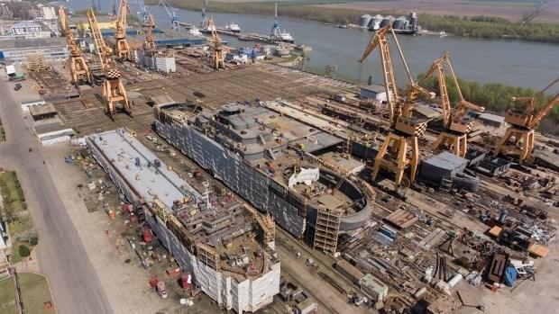 Fabrica de construccion naval de Rumania contrata trabajadores vietnamitas hinh anh 1