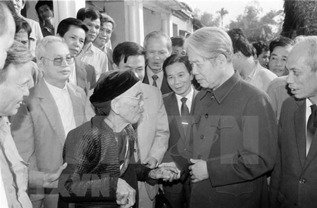 Exsecretario general del Partido Comunista de Vietnam Do Muoi: combatiente revolucionario digno hinh anh 1