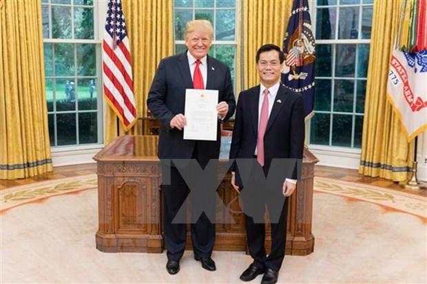 EE.UU. comprometido a respetar regimen politico de Vietnam, afirma embajador de Hanoi hinh anh 1
