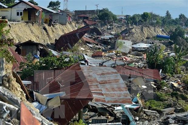 Registran otro fuerte sismo en Indonesia hinh anh 1
