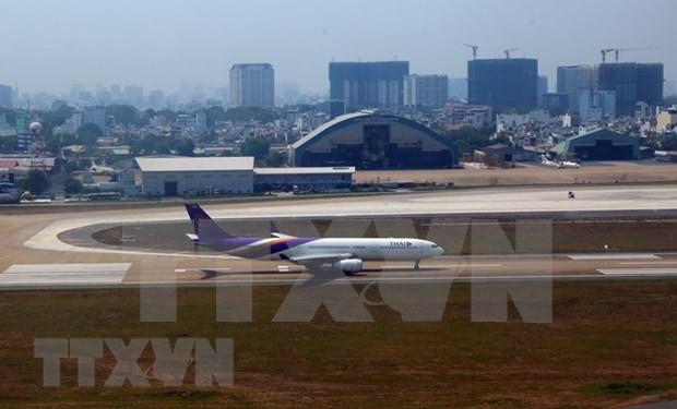 Anuncian reajuste de construccion del aeropuerto Tan Son Nhat en Ciudad Ho Chi Minh hinh anh 1