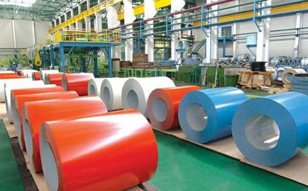 Indonesia exime a acero recubierto de color de Vietnam de medidas antidumping hinh anh 1