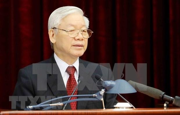 Secretario general del PCV nominado al puesto de Presidente de Vietnam hinh anh 1