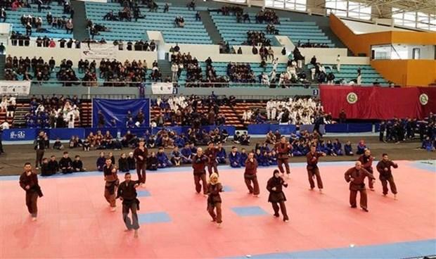 Impulsan la practica de artes marciales vietnamitas en Argelia hinh anh 1
