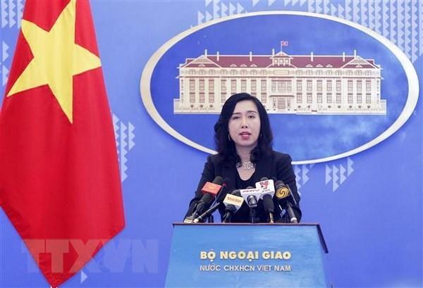 Vietnam pide contribuciones positivas a paz y estabilidad en mares y oceanos hinh anh 1