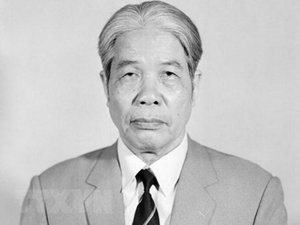 Mas condolencias enviadas a Vietnam por deceso de exdirigente partidista Do Muoi hinh anh 1