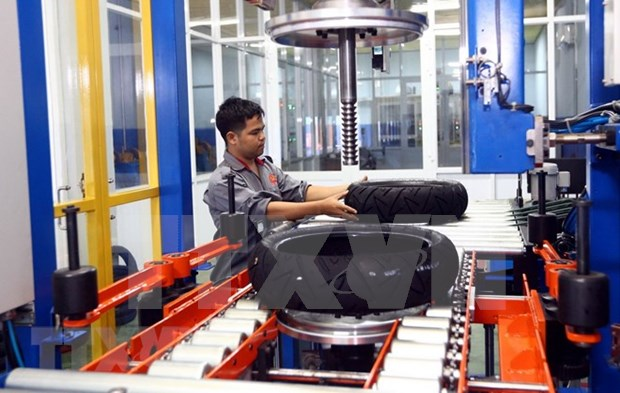 Ciudad Ho Chi Minh registra alto crecimiento industrial hinh anh 1