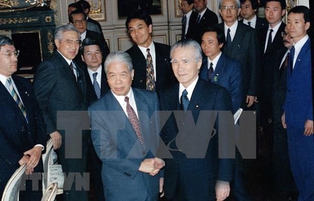 Destacan pensamiento sabio de Do Muoi, exsecretario general del Partido Comunista de Vietnam hinh anh 1