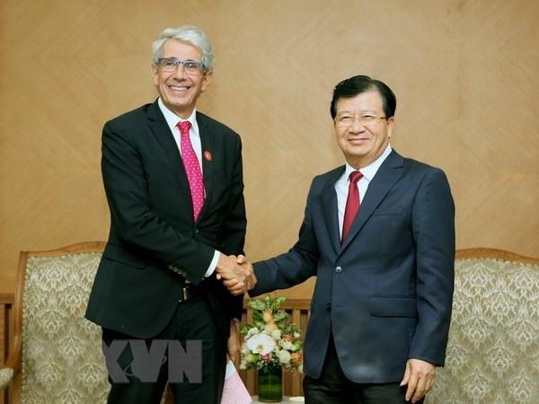Vietnam promete atractivas condiciones para inversionistas de Francia hinh anh 1