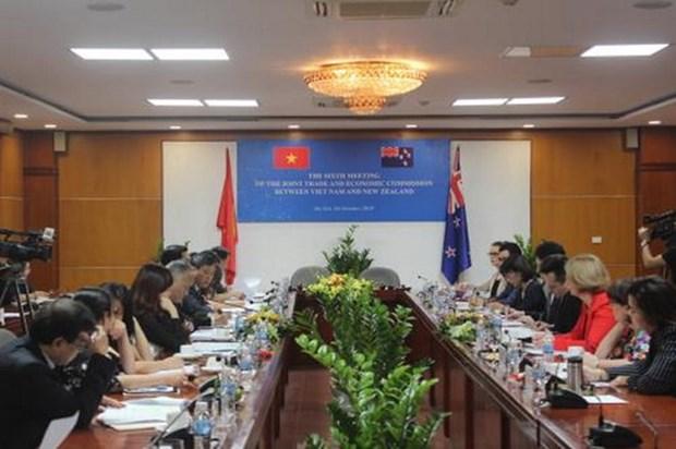 Fortalecen cooperacion comercial entre Vietnam y Nueva Zelanda hinh anh 1