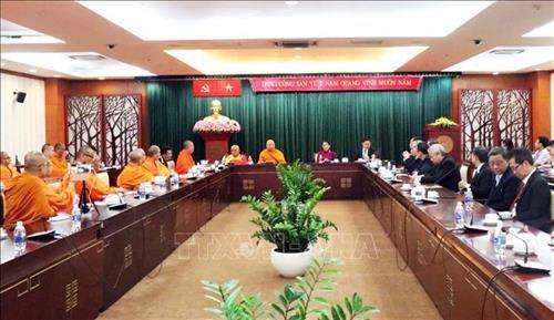 Robustecen nexos entre organizaciones budistas de Vietnam y Tailandia hinh anh 1