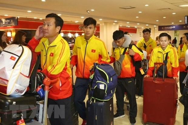 Deportistas vietnamitas participan en Juegos Olimpicos de la Juventud- 2018 en Argentina hinh anh 1