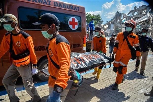Asciende a mas de mil 500 los fallecidos por sismo y tsunami en Indonesia hinh anh 1