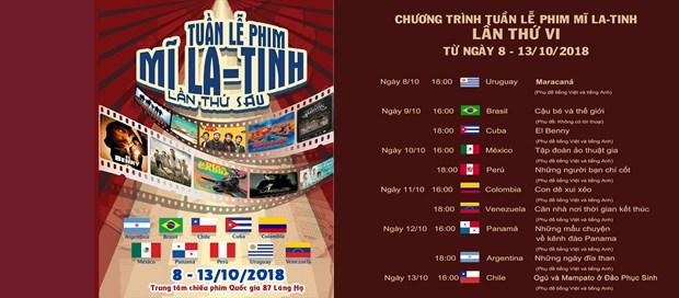 VI Ciclo de Cine Latinoamericano comenzara en Hanoi la proxima semana hinh anh 1