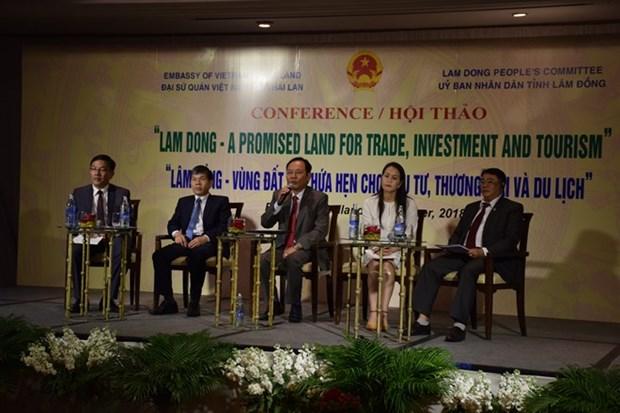 Promueven en Tailandia inversiones en provincia vietnamita de Lam Dong hinh anh 1