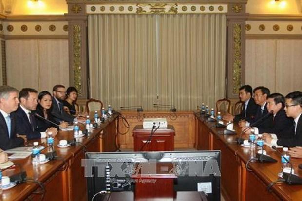 Intensifican colaboracion comercial de Ciudad Ho Chi Minh con Reino Unido hinh anh 1