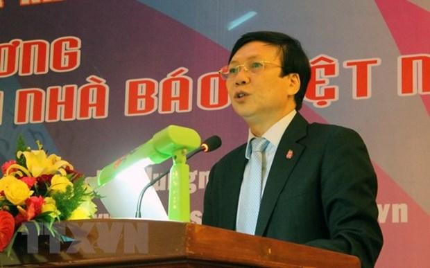 Periodistas vietnamitas y camboyanos suscriben memorando de cooperacion hinh anh 1