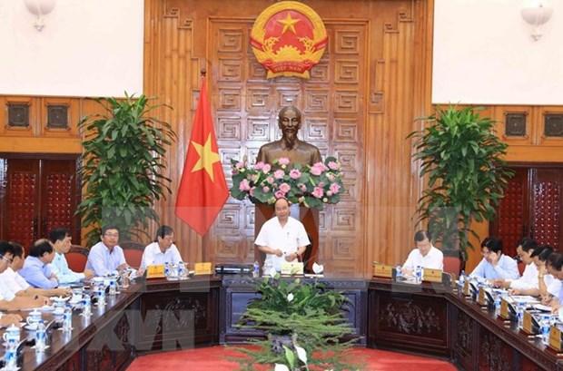 Premier de Vietnam insta a Ninh Thuan a convertirse en centro de energias renovables hinh anh 1