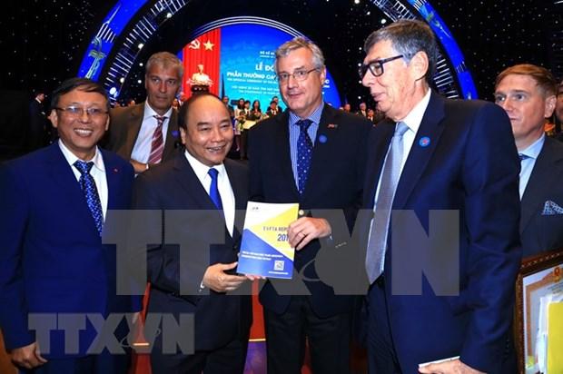 Vietnam expande su politica de cooperacion en el sector de inversion extranjera, afirma premier hinh anh 1