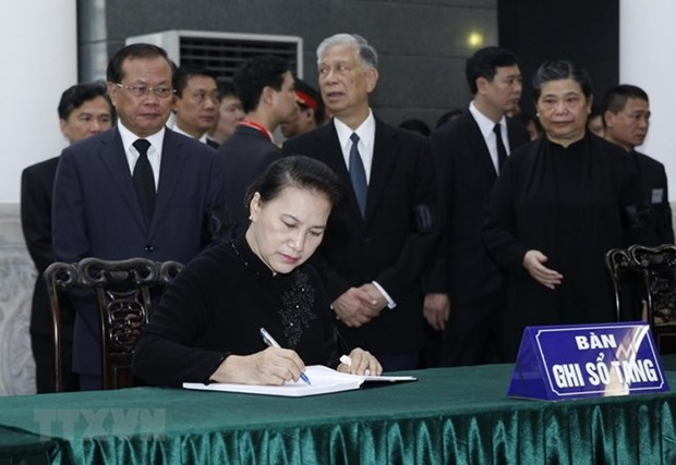 Resaltan legado de Do Muoi, exsecretario general del Partido Comunista de Vietnam hinh anh 1