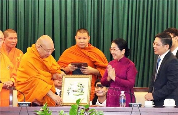 Vietnam y Tailandia impulsan lazos en asuntos budistas hinh anh 1