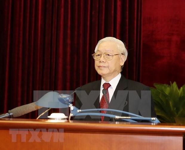 Comite Central del Partido Comunista de Vietnam concluye su octavo pleno hinh anh 1