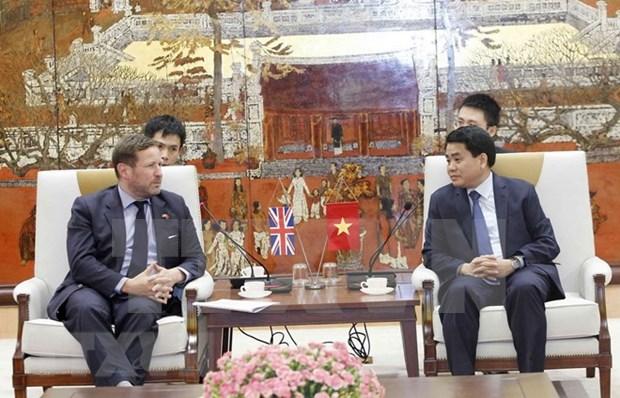 Hanoi fortalece cooperacion con Reino Unido en multiples sectores hinh anh 1