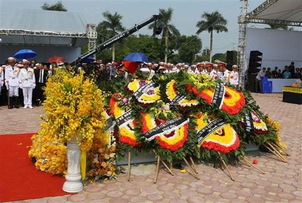 Do Muoi, exsecretario general del Partido Comunista de Vietnam, ya descansa en su tierra natal hinh anh 4