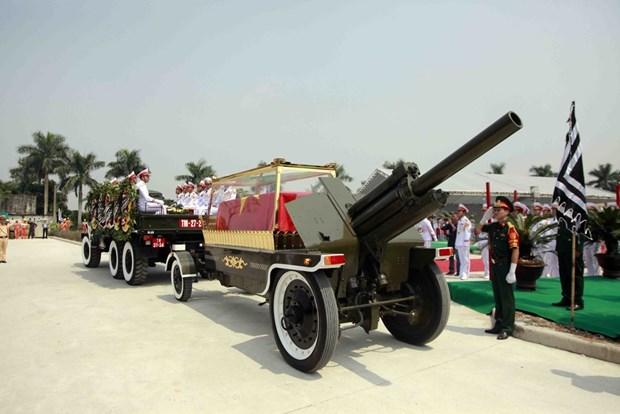 Do Muoi, exsecretario general del Partido Comunista de Vietnam, ya descansa en su tierra natal hinh anh 1