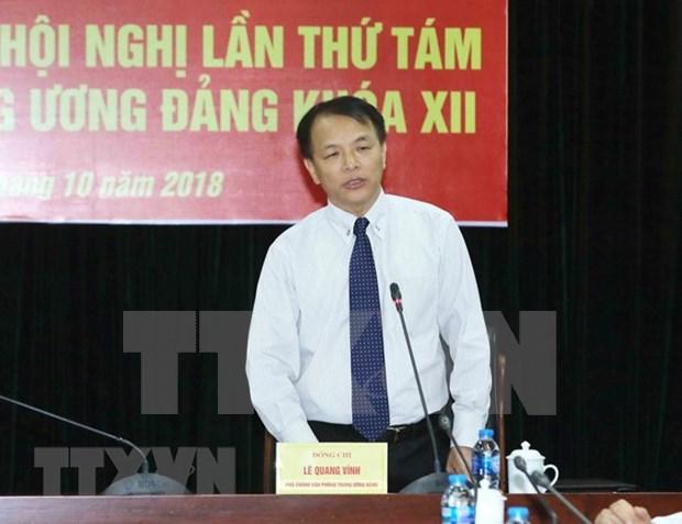 Realizaran votacion de confianza a miembros del Buro Politico del Partido Comunista de Vietnam hinh anh 1
