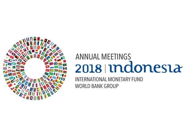 Inauguran conferencia del Banco Mundial y el Fondo Monetario Internacional en Indonesia hinh anh 1