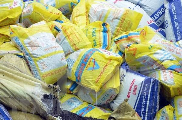 Valor de exportaciones de fertilizantes de Vietnam totaliza 210 millones de dolares hinh anh 1