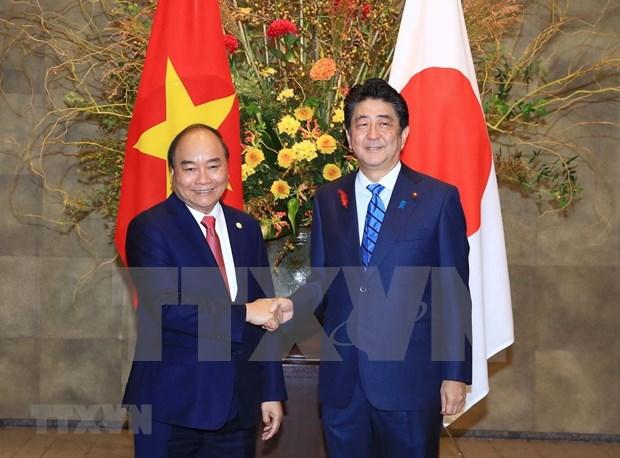 Vietnam y Japon acuerdan medidas para fomentar asociacion estrategica bilateral hinh anh 1