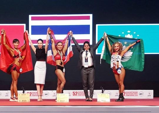 Conquista Vietnam medalla de oro en Campeonato asiatico de Culturismo hinh anh 1