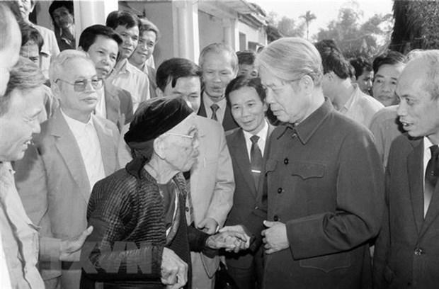 Rinden tributo en el extranjero a exsecretario general del Partido Comunista de Vietnam hinh anh 1