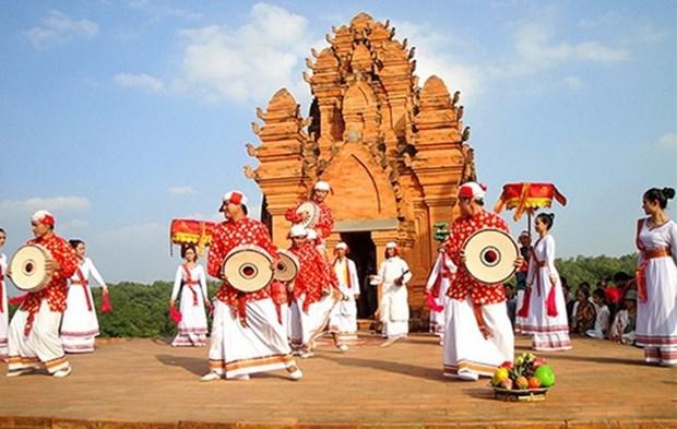 Nutrida participacion en festival de Kate en provincia central de Vietnam hinh anh 1