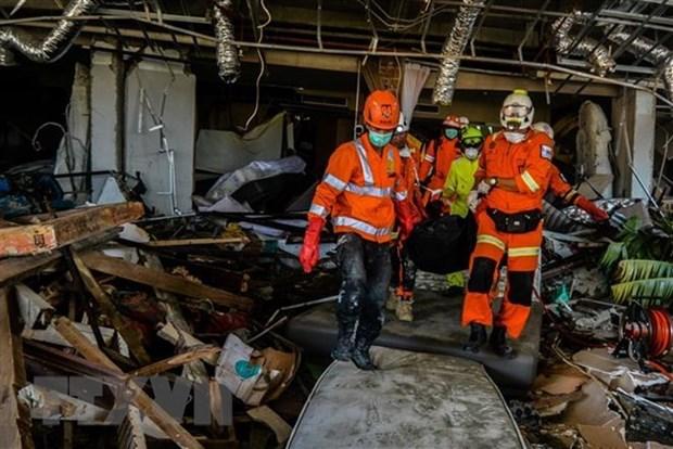 Finalizaran busqueda de victimas del terremoto y tsunami en Indonesia hinh anh 1
