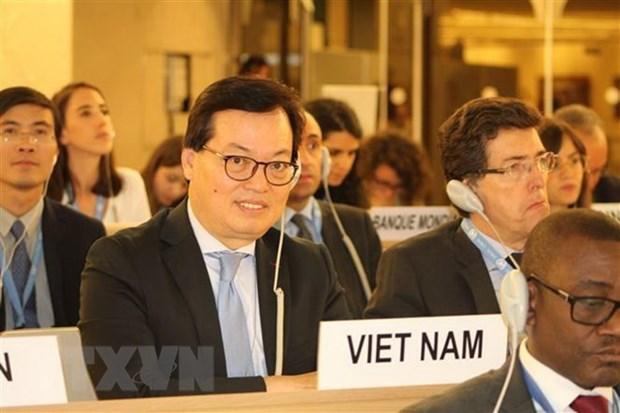 Vietnam participa activamente en comunidad francofona, afirma su embajador hinh anh 1