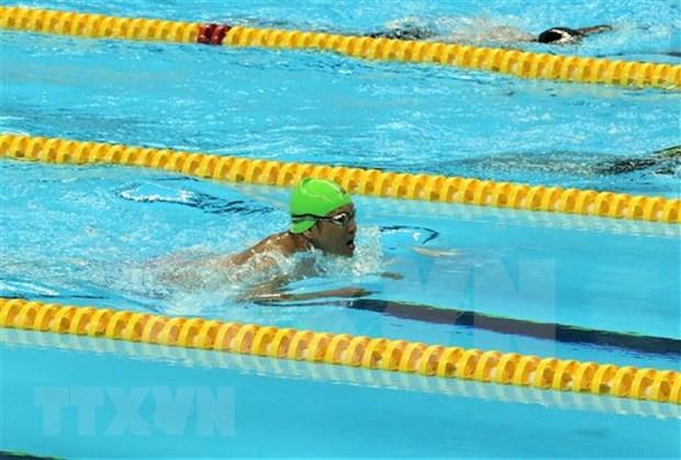 Vietnam cumple meta trazada para Juegos Paralimpicos de Asia en segunda jornada de competencia hinh anh 1